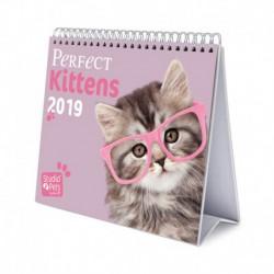 Calendario De Escritorio Deluxe 2019 Studio Pets Cats
