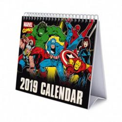 Calendario De Escritorio Deluxe 2019 Marvel Comics