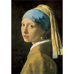 Puzzle 1000 Piezas Vermeer:Fanciulla Con