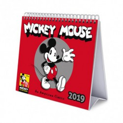 Calendario De Escritorio Deluxe 2019 Mickey 90 Anniversary