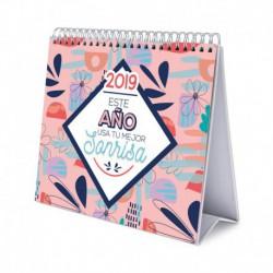 Calendario De Escritorio Deluxe 2019 Amelie