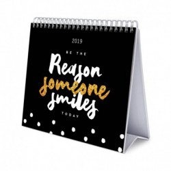 Calendario De Escritorio Deluxe 2019 Glitter
