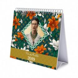 Calendario De Escritorio Deluxe 2019 Frida Kahlo