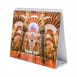 Calendario De Escritorio Deluxe 2019 España