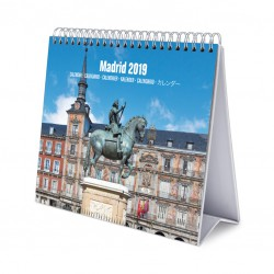 Calendario De Escritorio Deluxe 2019 Madrid