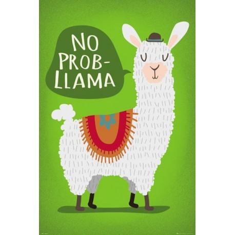 Poster Llama No Probllama