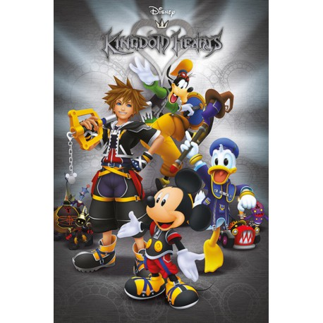Poster Kingdom Of Hearts Classic