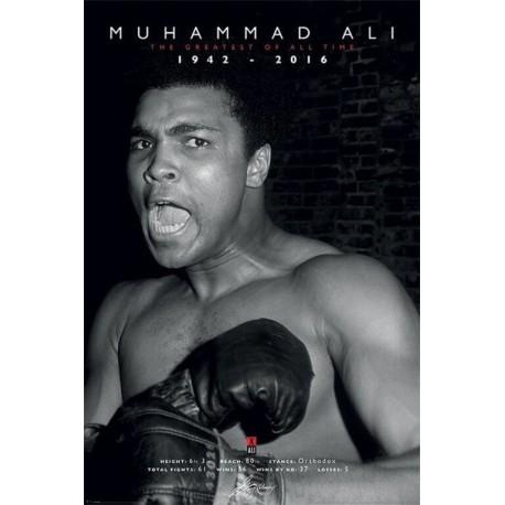 Poster Muhammad Ali Commemorative Greatest