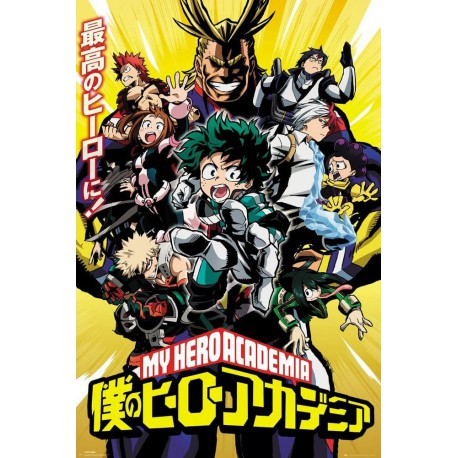 Poster My Hero Academia Season 1