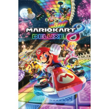 Poster Mario Kart 8 Deluxe