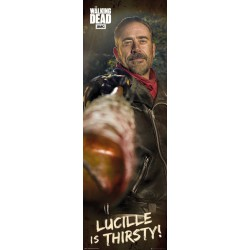 Poster Puerta The Walking Dead Negan