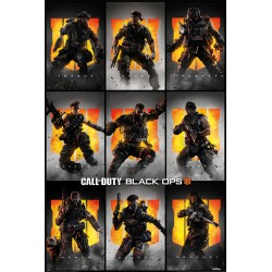 Poster Call Of Duty Black Ops 4 Personajes