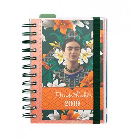 Agenda 2019 Dia Pagina Frida Kahlo