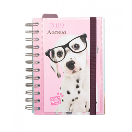 Agenda 2019 Dia Pagina Studio Pets Dog