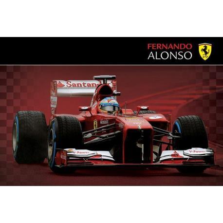 Poster Ferrari Fernando Alonso 2013