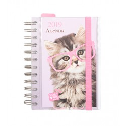 Agenda 2019 Dia Pagina Studio Pets Cat