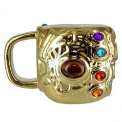 Taza 3D Relieve Marvel Avengers Infinity War Gauntlet