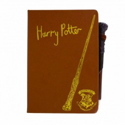 Cuaderno Y Boligrafo Varita Harry Potter Harry Potter