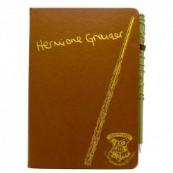 Cuaderno Y Boligrafo Varita Harry Potter Hermione