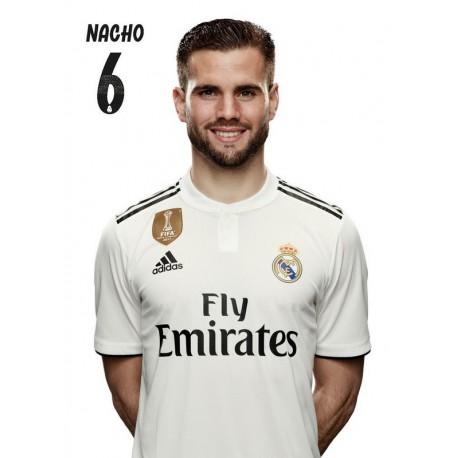 Postal Real Madrid 2018/2019 Nacho Busto