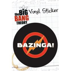 Pegatina Vinilo The Big Bang Theory Bazinga