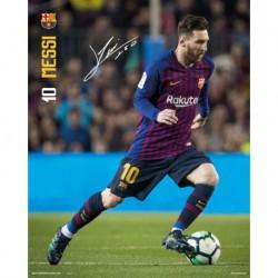 Mini Poster Fc Barcelona 2018/2019 Messi Accion