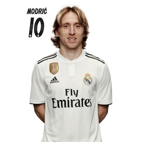 Postal Real Madrid 2018/2019 Modric Busto