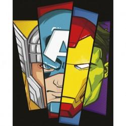 Canvas 20X25 Cm Marvel Avengers