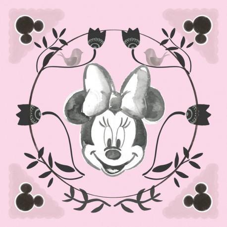 Canvas 30X30 Cm Disney Minnie Happy