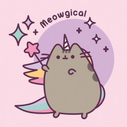 Canvas 30X30 Cm Pusheen The Cat Meowgical
