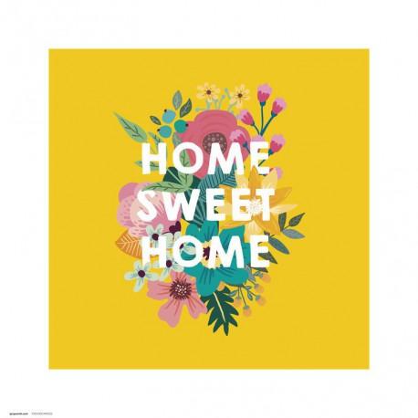 Lámina 30X30 Cm Loreak Home Sweet Home