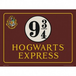 Lámina 30X40 Cm Harry Potter Hogwarts Express