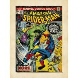 Lámina 30X40 Cm Marvel Comics Spider-Man