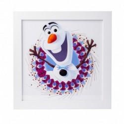 Lámina Enmarcada 30X30 Cm Disney Frozen Olaf