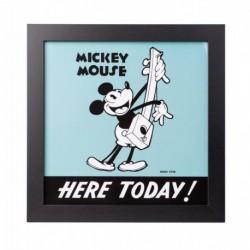 Lámina Enmarcada 30X30 Cm Disney Mickey 90