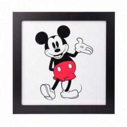 Lámina Enmarcada 30X30 Cm Disney Mickey Classic