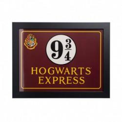 Lámina Enmarcada 30X40 Cm Harry Potter Hogwarts Express