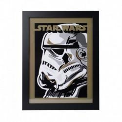 Lámina Enmarcada 30X40 Cm Star Wars Stormtrooper