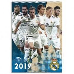 Calendario A3 2019 Real Madrid