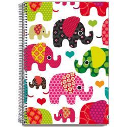 Cuaderno Tapa Dura A5 Elephants