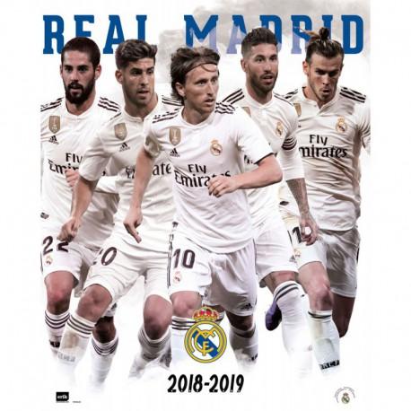 Mini Poster Real Madrid 2018/2019 Grupo