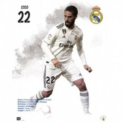 Mini Poster Real Madrid 2018/2019 Isco