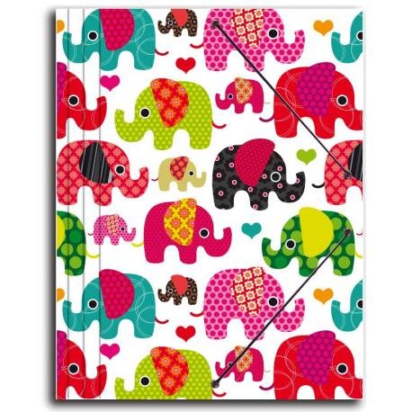 Carpeta Gomas Elephants