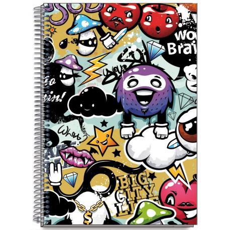 Cuaderno Tapa Dura A5 Brains