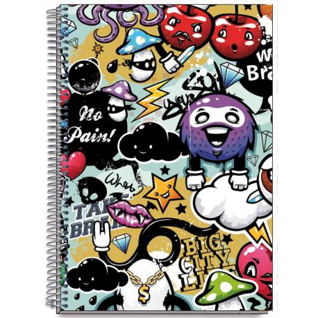 Cuaderno Tapa Dura A6 Brains