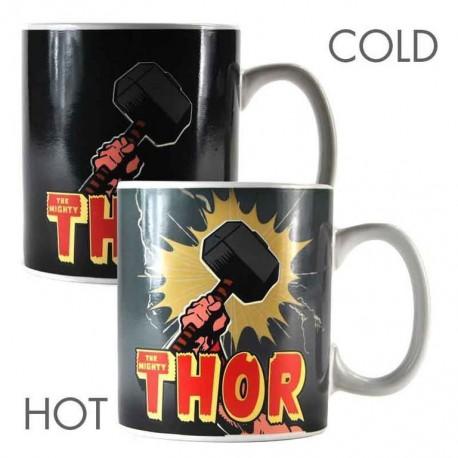 Taza Termocolora Marvel Thor