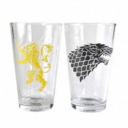 Vasos Set De 2 Game Of Thrones Stark And Lannister
