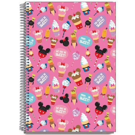 Cuaderno Tapa Dura A4 Disney D' Lish