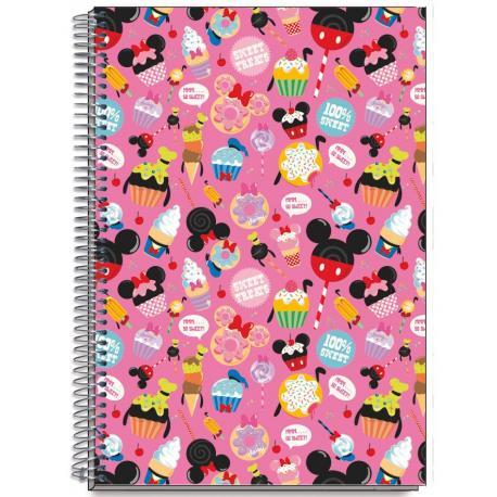 Cuaderno Tapa Dura A5 Disney D' Lish