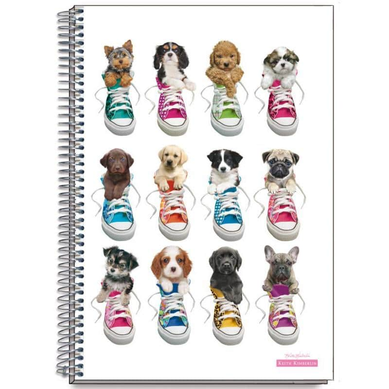 Cuaderno Tapa Dura A4 Keith Kimberlin Perros Sneakers - Nosoloposters ...